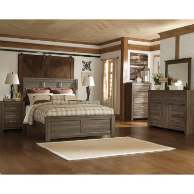 Signature Design by Ashley® JUARARO QUEEN PANEL BED