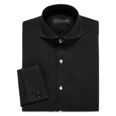 D'Amante Modern French Cuff Long-Sleeve Dress Shirt Big & Tall