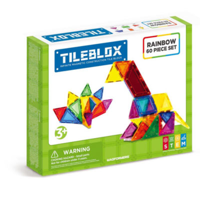 Tileblox Rainbow 60pc