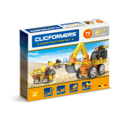 Clicformers Construction Set - 70pc