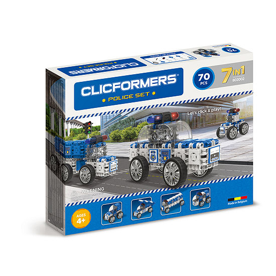 Clicformers Police Set - 70pc