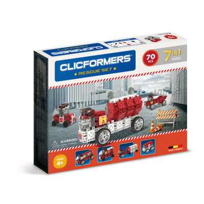 Clicformers Rescue Set - 70pc