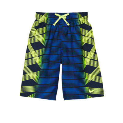 "Nike 8"" Printed Volley Swim Trunk - Boys 8-20"