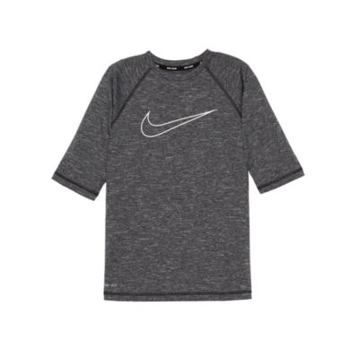 Nike Half Sleeve Logo Rash Guard-Boys 8-20