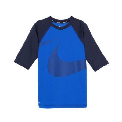 Nike Half Sleeve Rash Guard - Boys 8-20