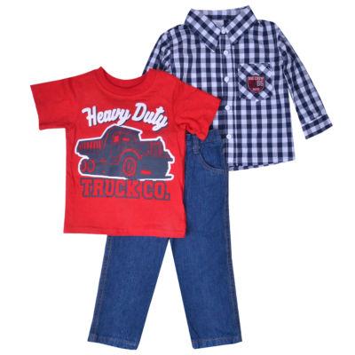 3-pc. Pant Set-Toddler Boy