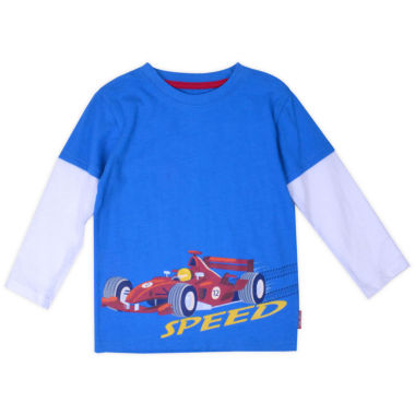Graphic T-Shirt-Toddler Boys