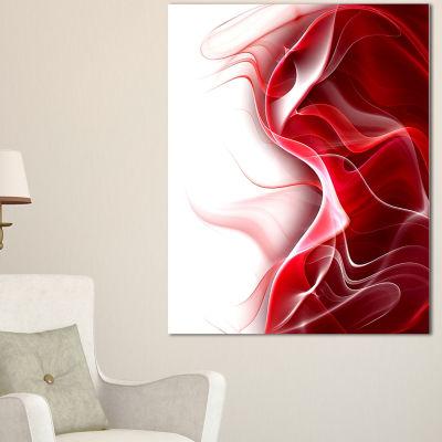Design Art 3D Fractal Abstract Design Canvas Art Print