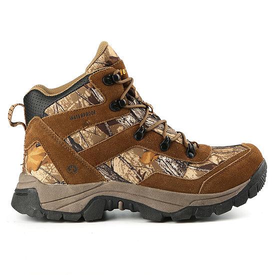 fe86fb0d418 Northside Mens Dakota Wp Hiking Boots Flat Heel Lace-up