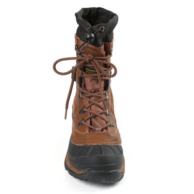 Northside Mens Bozeman Waterproof Insulated Winter Boots Flat Heel Lace-up