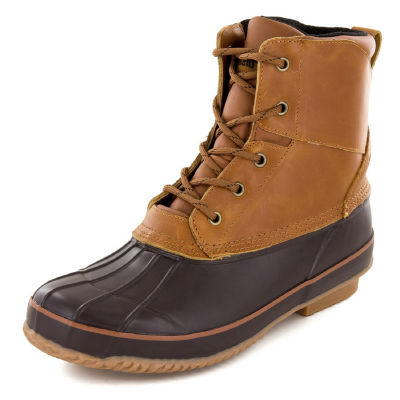 Northside Mens Lewiston Insulated Winter Boots Flat Heel Lace-up