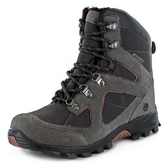 Northside Mens Kennewick Waterproof Insulated Winter Boots Flat Heel