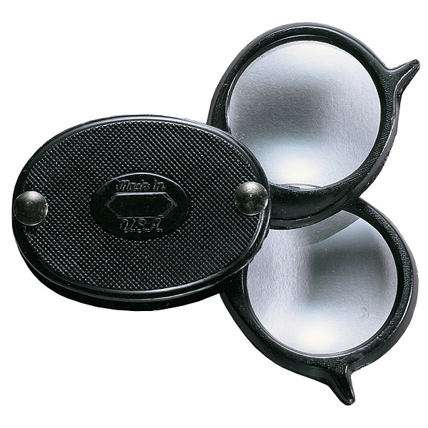 General 537 6.0 Magnifier With Case