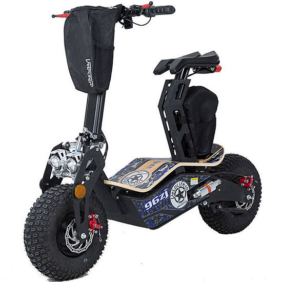 Mototec Mad Fat Tire 1600w 48v Electric Scooter With Seat