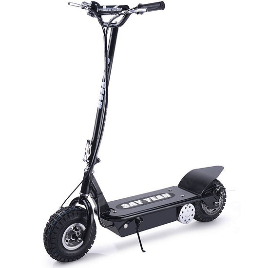 Say Yeah 800w Kids Electric Scooter With Seat Black
