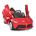 Rastar Ferrari 12v Laferrari Kids Battery Powered Ride On Car Remote Controlled (2.4ghz Rc)  Red