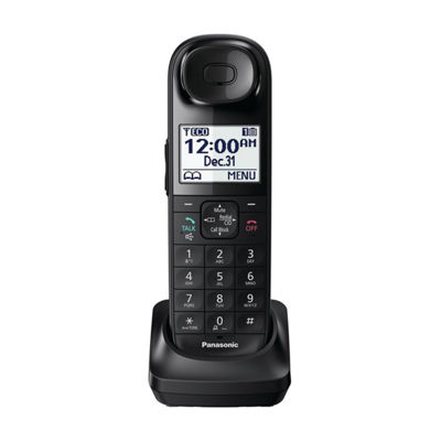 Panasonic KX-TGLA40B DECT 6.0 Additional Digital Cordless Handset for the KX-TGL43 Series - Black