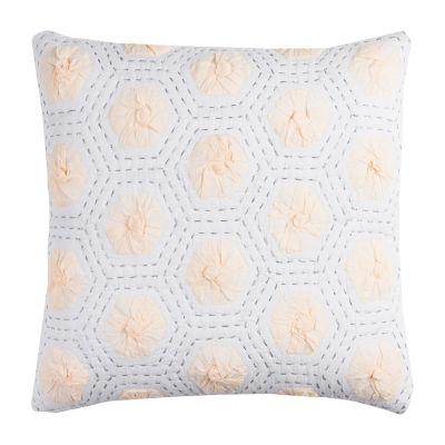 Rizzy Home Logan Geometric Decorative Pillow