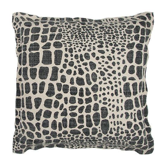 Rizzy Home Jordan Animal Print Decorative Pillow