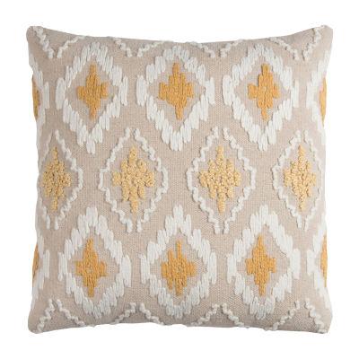 Rizzy Home Evan Diamond Decorative Pillow