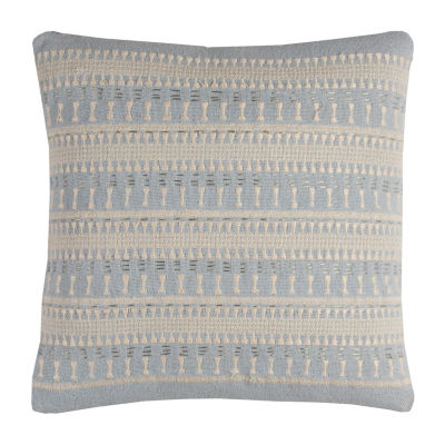 Rizzy Home Jayden Stripe Textured Decorative Pillow