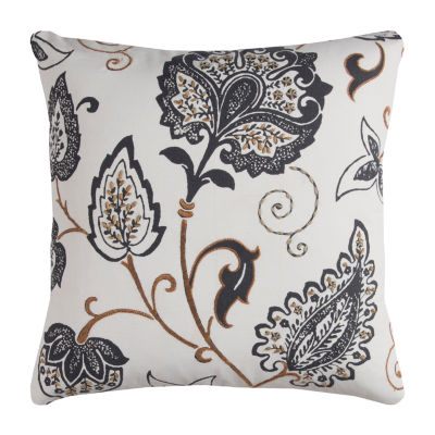 Rizzy Home Adambrian Floral Decorative Pillow