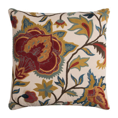 Rizzy Home Jesus Floral Decorative Pillow