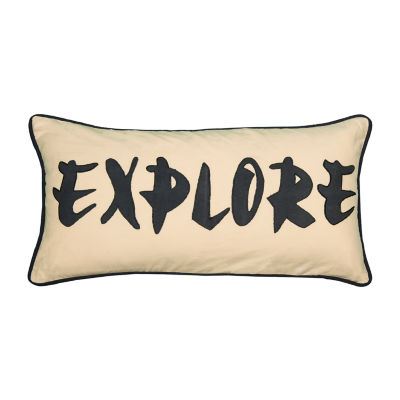 Rizzy Home Amelia Word Pillow Decorative Pillow