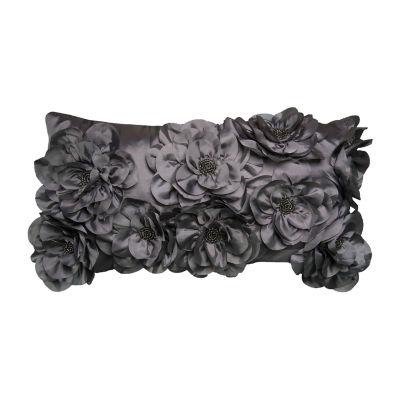 Rizzy Home Reagan Floral Decorative Pillow