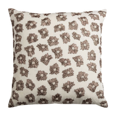Rizzy Home Sarrah Floral Decorative Pillow