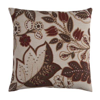 Rizzy Home Salma Floral Decorative Pillow