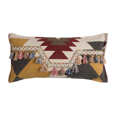 Rizzy Home Balthazar Southwestern Motif Decorative Pillow