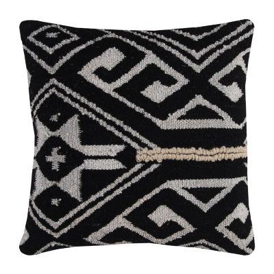 Rizzy Home Giovanni Tribal Medallion Decorative Pillow