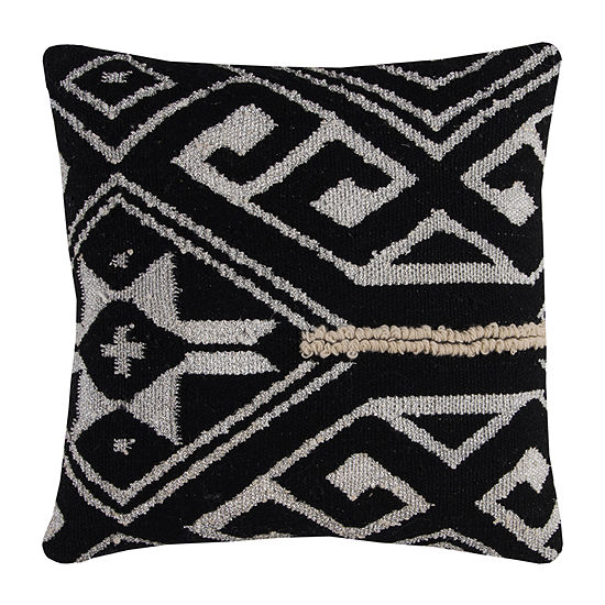 Rizzy Home Giovanni Tribal Medallion Decorative Pillow