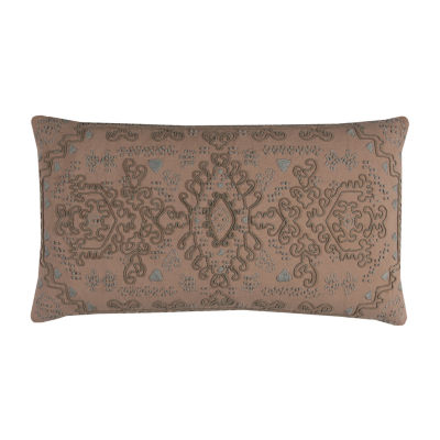 Rizzy Home Jonah Center Medallion Decorative Pillow