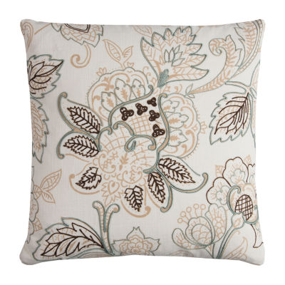 Rizzy Home Ulana Floral Decorative Pillow