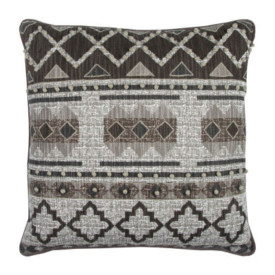 Rizzy Home Gretchen Geometric Textured DecorativePillow