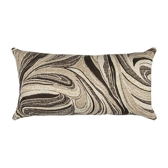 Rizzy Home Letty Abstract Swirl Decorative Pillow