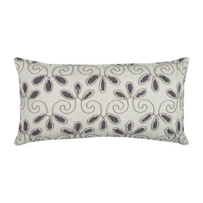 Rizzy Home Leighton Floral Decorative Pillow