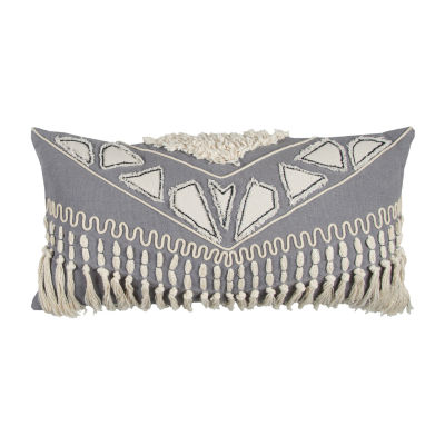 Rizzy Home Dougal Tribal Decorative Pillow