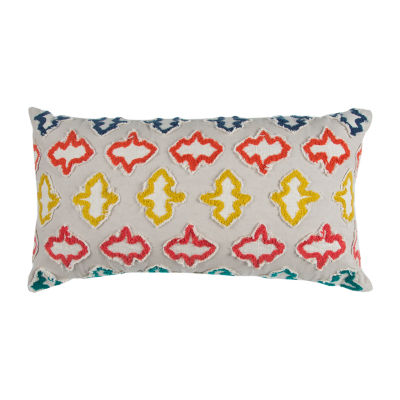 Rizzy Home Hugo Geometric Decorative Pillow