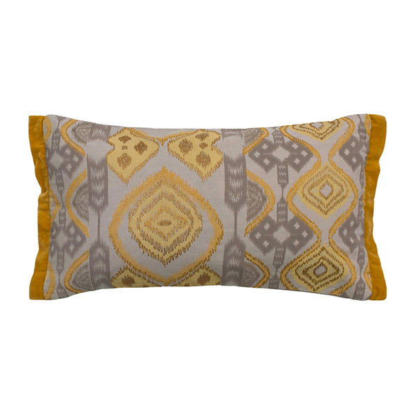 Rizzy Home Melmen Medallion And Ikat Decorative Pillow
