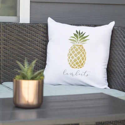 Cathy's Concepts Personalized Pineapple Pillow