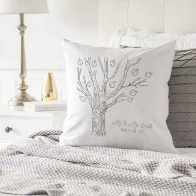 Cathy's Concepts Personalized Tree Pillow