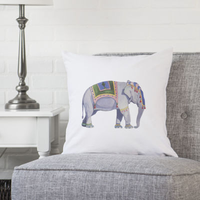 Cathy's Concepts Elephant Throw Pillow