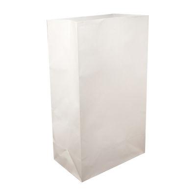 Luminaria Bags- White (100 Count)