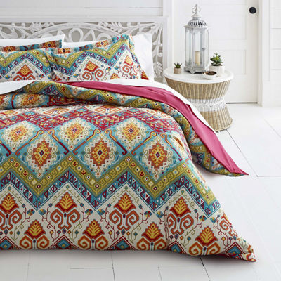 Azalea Skye Moroccan Nights Red Duvet Cover Set
