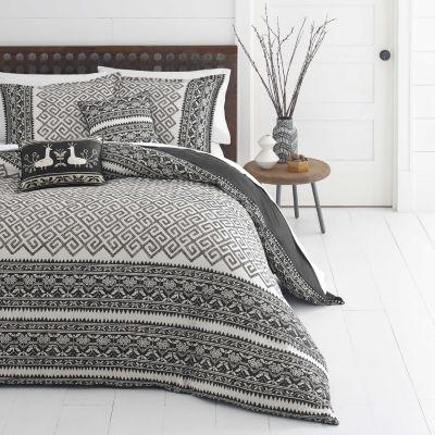 Azalea Skye Greca Borders Beige Comforter Set