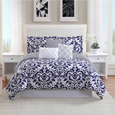 Studio 17 Anson Reversible Microfiber 7-pc. Comforter Set