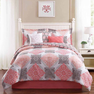 Studio 17 Mallory Reversible Microfiber 7-pc. Comforter Set